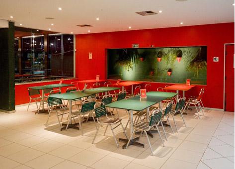 ilustração restaurante